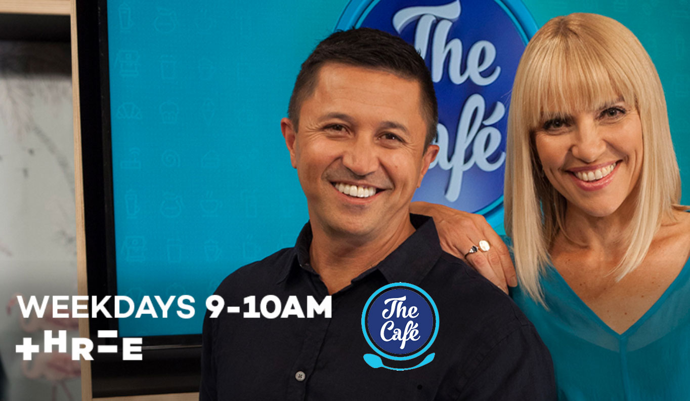 Picture of the hosts of The Café on Three