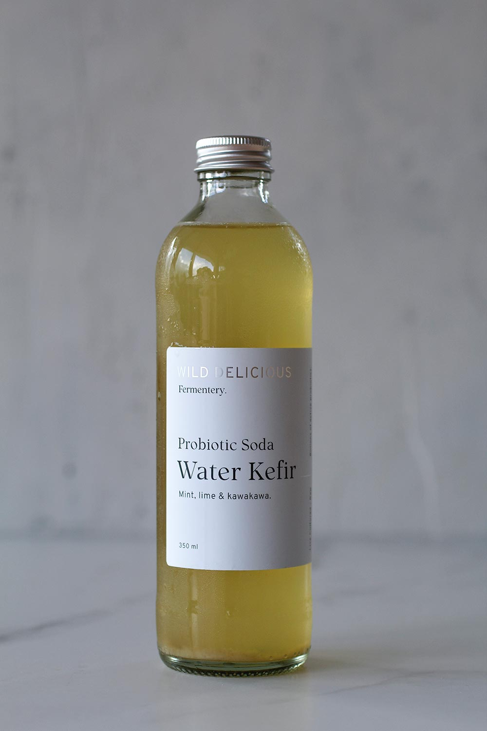 Mint, Lime and Kawakawa Water kefir